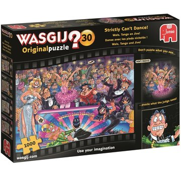 Jumbo Wasgij Original 30 Waltz Tango and Jive Puzzle 1000 pieces