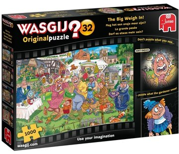 Jumbo Wasgij Original 32 The Big Weigh In Puzzle 1000 Pieces