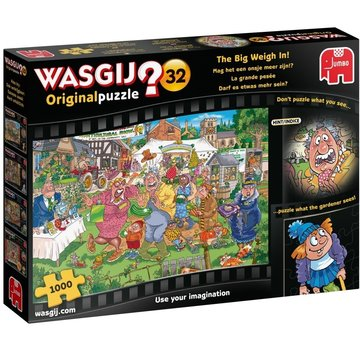 Jumbo Wasgij Original 32 ounce more Are Puzzle 1000 pieces