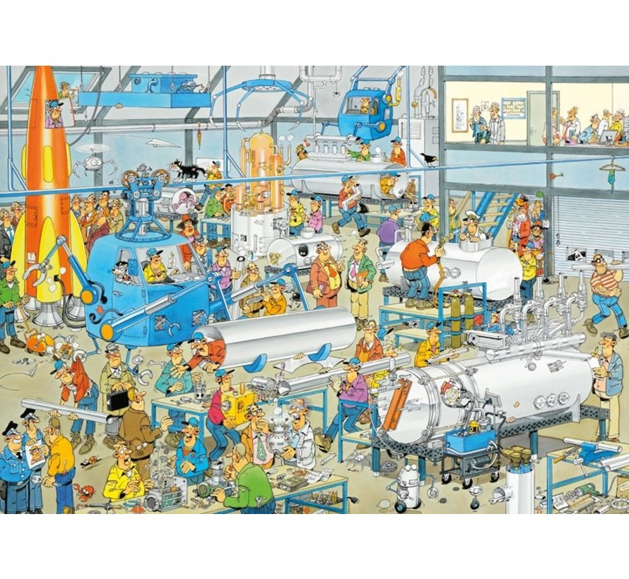 Jan van Haasteren – Technical Highlights Puzzle 1000 Pieces