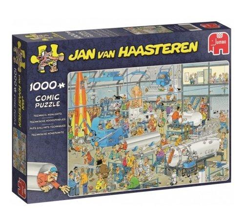 Jumbo Jan van Haasteren – Technical Highlights Puzzle 1000 Pieces