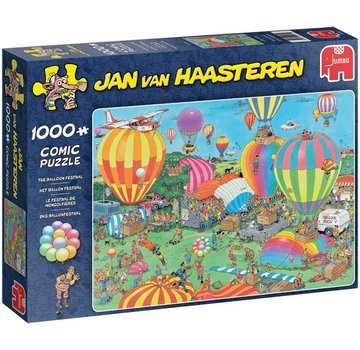 Jumbo Jan van Haasteren – The Balloon Festival Puzzle 1000 Pieces