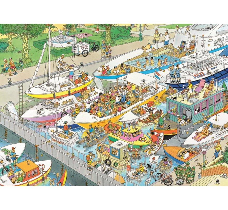 Jan van Haasteren – The Locks Puzzle 1000 Pieces