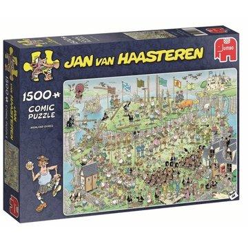 Jumbo Jan van Haasteren - Highland Games 1500 Puzzle Pieces