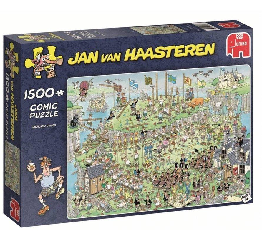 Jan van Haasteren – Highland Games Puzzel 1500 Stukjes