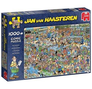 Jumbo Jan van Haasteren - Le Drugstore 1000 Puzzle Pieces