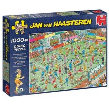 Jumbo Jan van Haasteren – WK Vrouwenvoetbal Puzzel 1000 Stukjes
