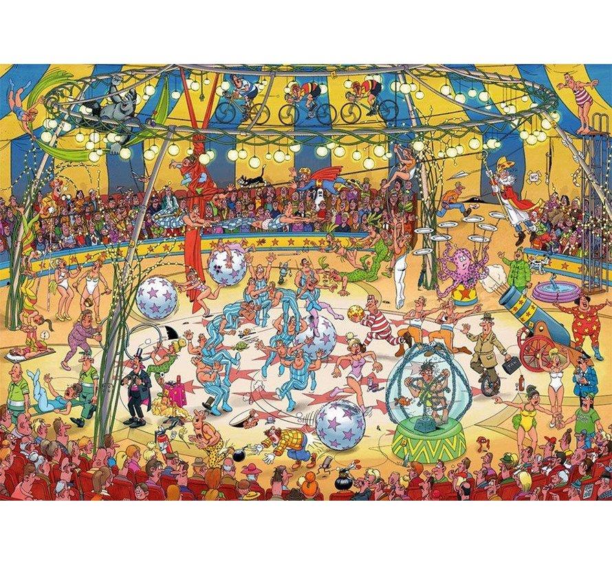 Jan van Haasteren – Acrobaten Circus Puzzel 1000 Stukjes