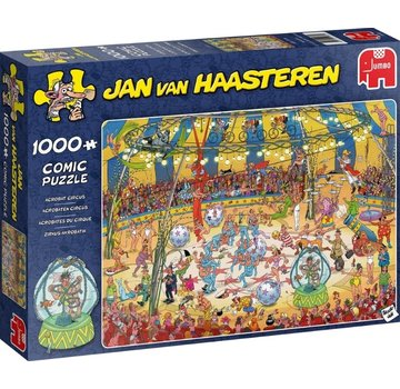 Jumbo Jan van Haasteren - Acrobats Circus Puzzle 1000 Pieces