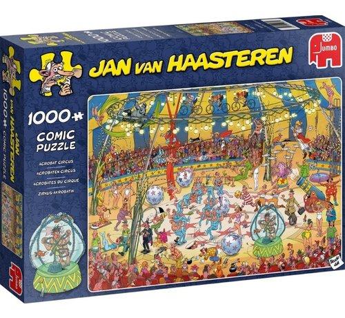 Jumbo Jan van Haasteren – Acrobaten Circus Puzzel 1000 Stukjes