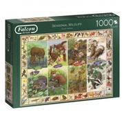Falcon Seasonal Wildlife  1000 Piece Jigsaw Puzzle