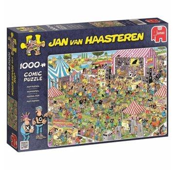 Jumbo Jan van Haasteren – Popfestival Puzzel 1000 Stukjes