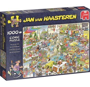 Jumbo Jan van Haasteren – The Holiday Fair Puzzle 1000 Pieces