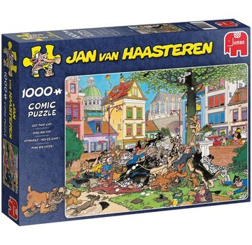 Jumbo Jan van Haasteren – Get the Cat Puzzle 1000 Pieces