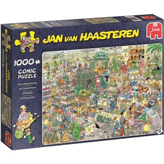 Jumbo Jan van Haasteren - The Garden Center 1000 Puzzleteile