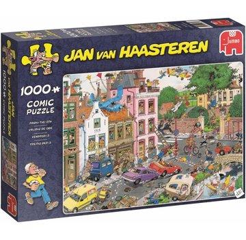 Jumbo Jan van Haasteren - Friday the 13th 1000 Puzzle Pieces