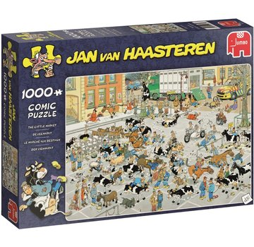 Jumbo Jan van Haasteren – The Cattle Market Puzzle 1000 Pieces