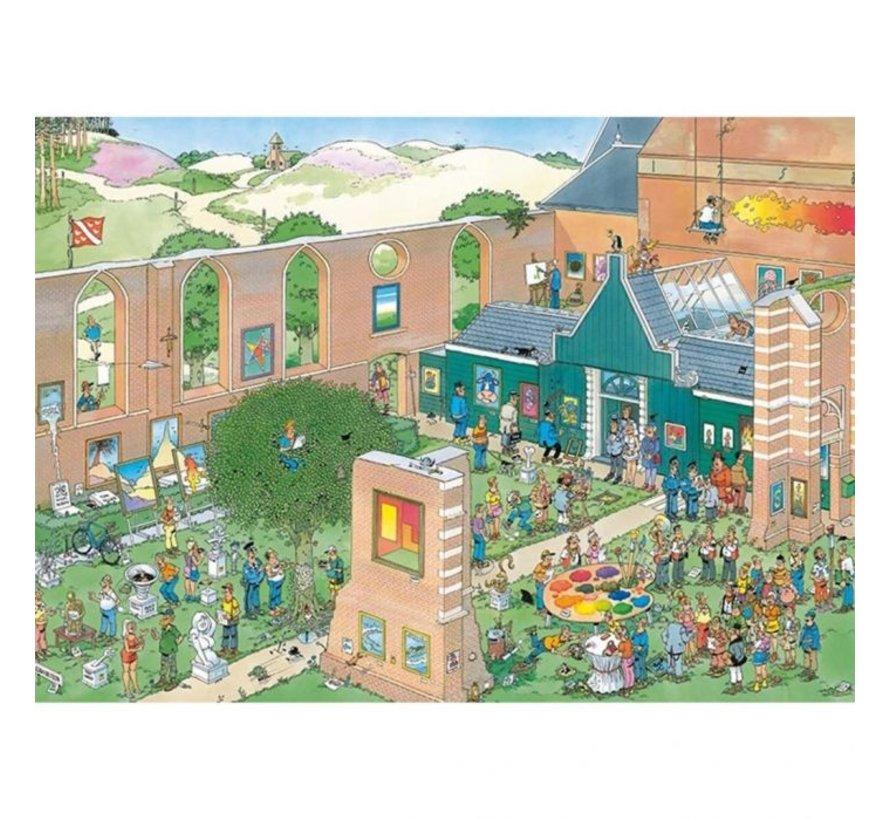 Jan van Haasteren – The Art Market Puzzle 1000 Pieces