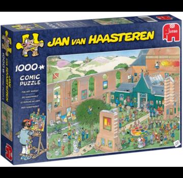 Jumbo Jan van Haasteren - The Art Market 1000 Puzzle Pieces