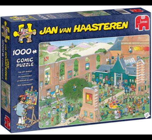 Jumbo Jan van Haasteren – The Art Market Puzzle 1000 Pieces