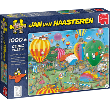 Jumbo Jan van Haasteren – Hooray Miffy 65 Years Puzzle 1000 Pieces