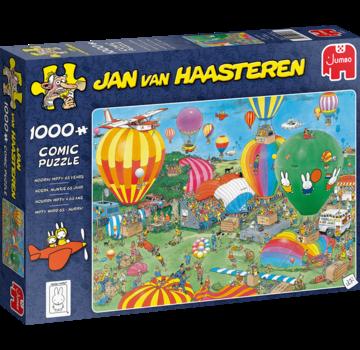 Jumbo Jan van Haasteren - Hurray Miffy 65 1000 Puzzle Pieces