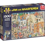 Jumbo Jan van Haasteren – The Building Site Puzzle 1500 Pieces