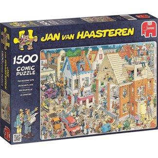 Jumbo Jan van Haasteren – De Bouwplaats Puzzel 1500 Stukjes