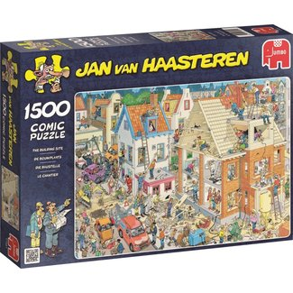 Jumbo Jan van Haasteren - Le Chantier de construction 1500 Puzzle Pieces