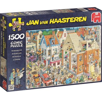 Jumbo Jan van Haasteren – The Building Site Puzzle 1500 Pieces