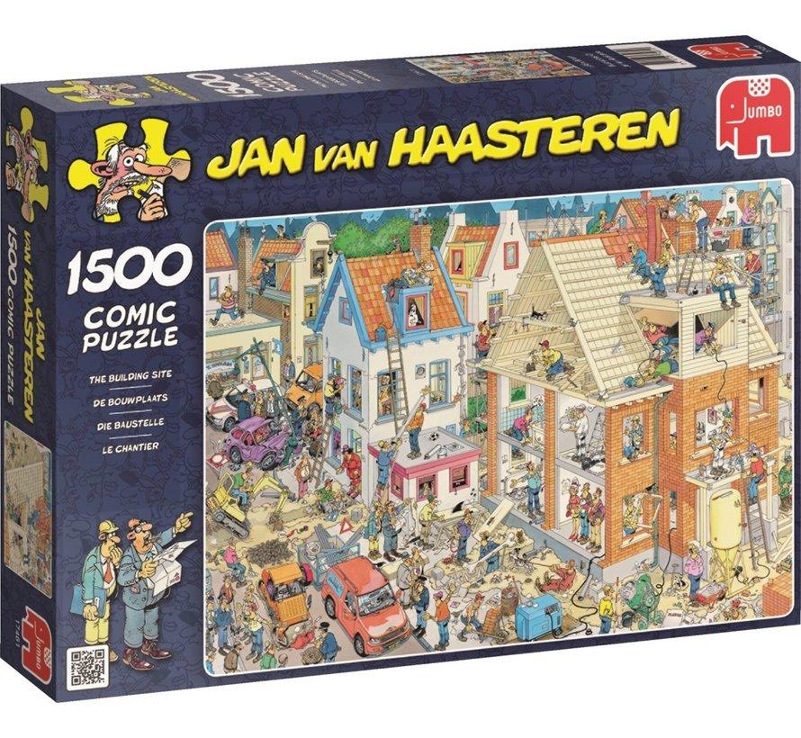 Jan van Haasteren – De Bouwplaats Puzzel 1500 Stukjes