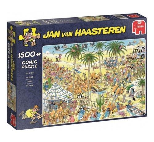 Jumbo Jan van Haasteren – De Oase Puzzel 1500 Stukjes