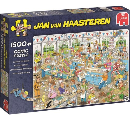 Jumbo Jan van Haasteren – Taarten Toernooi Puzzel 1500 Stukjes