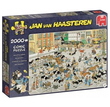 Jumbo Jan van Haasteren – The Cattle Market Puzzle 2000 Pieces