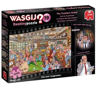 Jumbo Wasgij Destiny 19 Cafe de Hoek Puzzle Puzzle 1000 pieces
