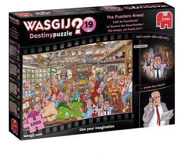 Jumbo Wasgij Destiny 19 Cafe de Puzzelhoek Puzzel 1000 stukjes