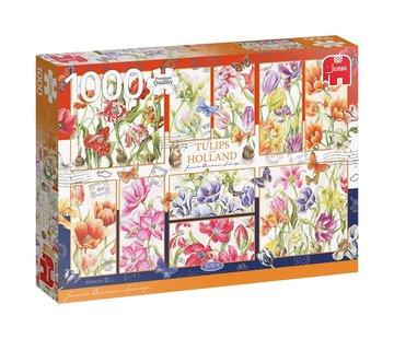 Jumbo Puzzle Janneke Brinkman Tulips 1000 Pieces