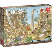 Jumbo Pieces of History - Egyptians Puzzle 1000 Pieces
