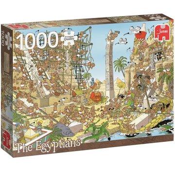 Jumbo Pieces of History - Die Ägypter Puzzle 1000 Stück