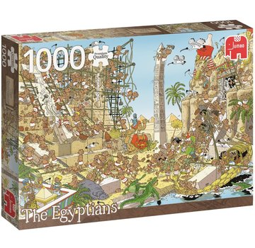 Jumbo Pieces of History - The Egyptians Puzzle 1000 Pieces