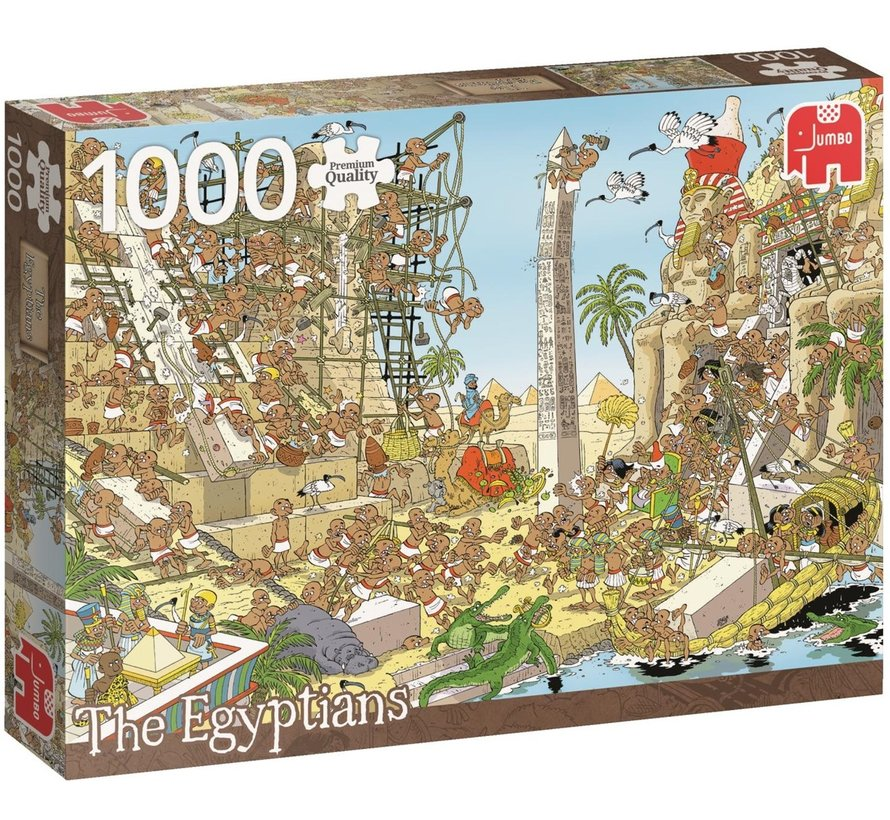 Pieces of History - Egyptians Puzzle 1000 Pieces