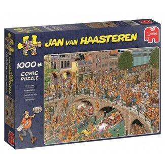 Jumbo Jan van Haasteren - 1000 King's Puzzle Pieces