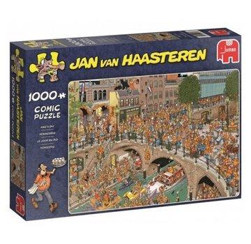 Jumbo Jan van Haasteren – Koningsdag Puzzel 1000 Stukjes