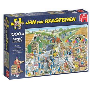 Jumbo Jan van Haasteren – The Winery Puzzle 1000 Pieces