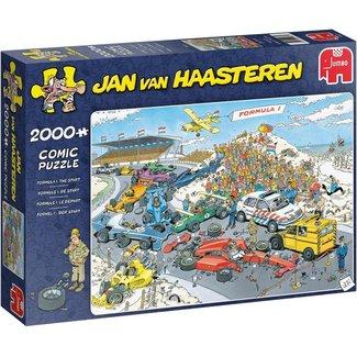 Jumbo Jan van Haasteren - Formule 1 Starten Sie 2000 Stück