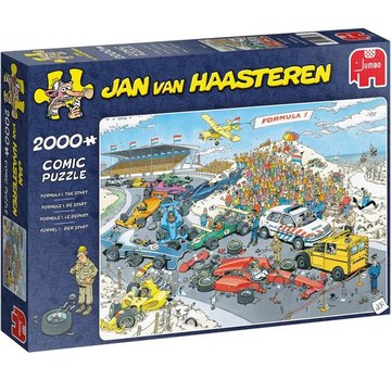 Jumbo Jan van Haasteren – Formule 1 De Start 2000 Pieces