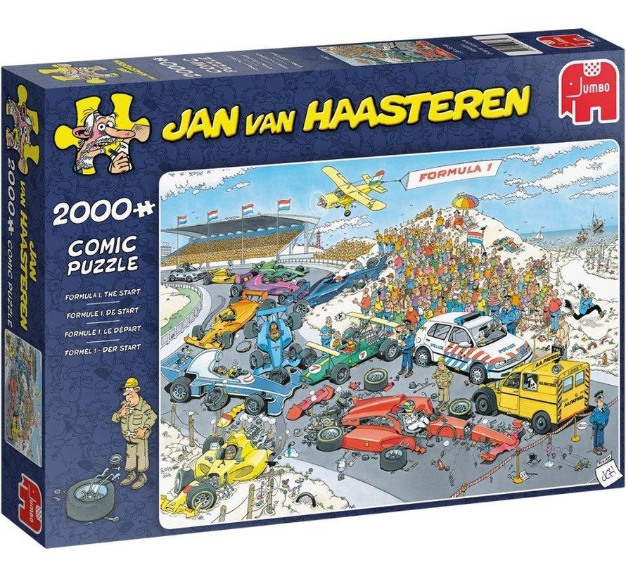 Jan van Haasteren – Formule 1 De Start 2000 Pieces