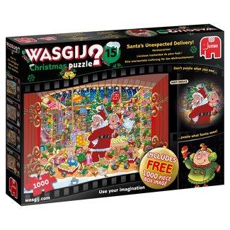 Jumbo Wasgij 15 Christmas Puzzle pieces 2x 1000