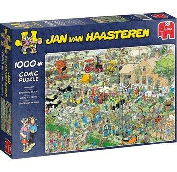 Jumbo Jan van Haasteren - Farm Visit 1000 Puzzle Pieces