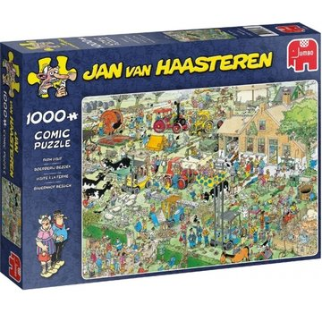 Jumbo Jan van Haasteren – Farm Visit Puzzle 1000 Pieces